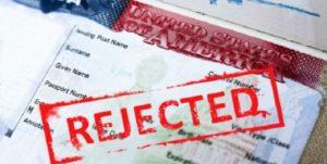 отказ визы в сша